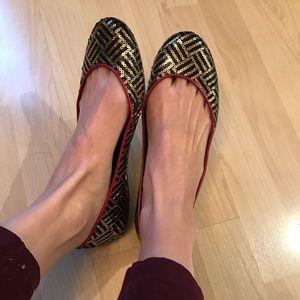 Sam Edelman Spangled Flats Size 7
